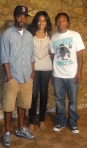 Najla T! with Space High's Pate & Producer Reez