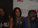 Towanda in mid-sentence, Trina always ready for a pic, & Tamar LOOK UP!