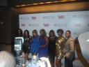 The Braxtons on the red carpet with Meli'sa Morgan & American Idol's Anwar Robinson again!