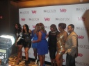 The Braxtons on the red carpet with Meli'sa Morgan & American Idol's Anwar Robinson