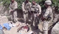 Marines Urinate on Dead